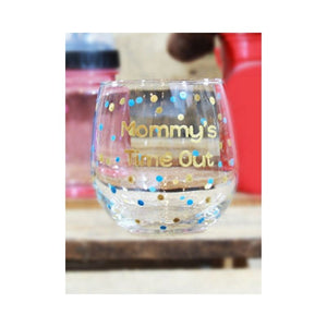 Tipsy - Stemless Wine Glasses - Mommy's Time Out