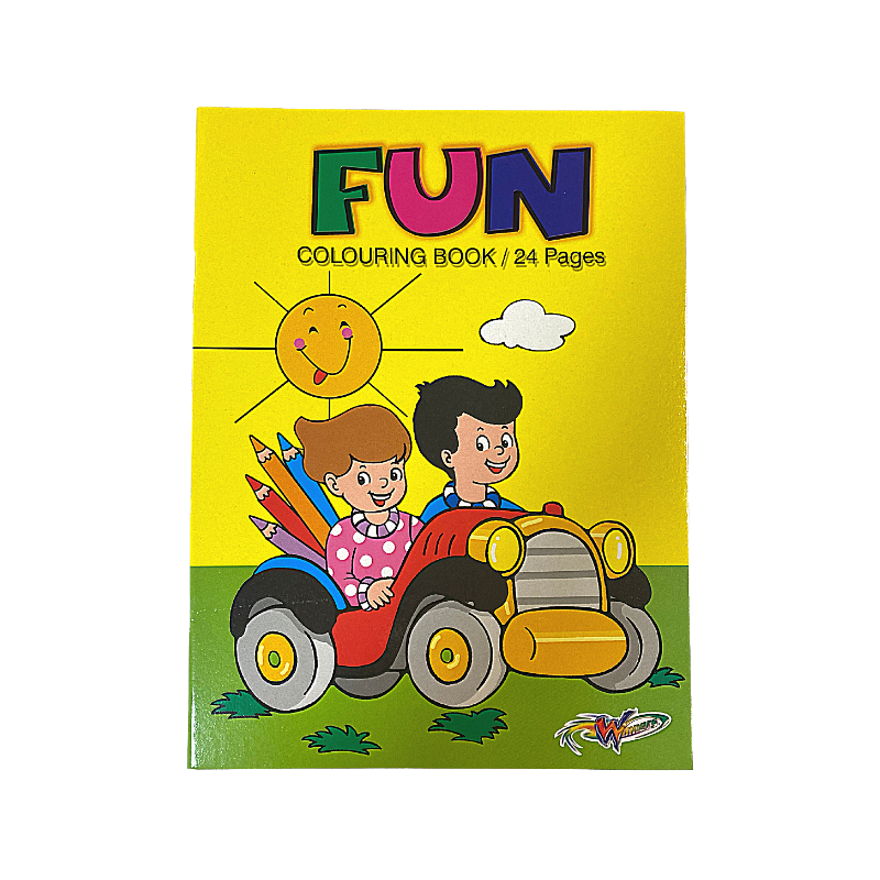Winners Fun Colouring Book 24 Pages