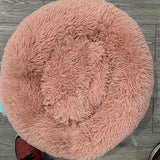 Best donut calming pet bed for dog or cat- Self Warming Indoor Round Pillow