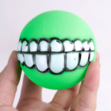 Pet Spherical Super Thick Sound Teeth Bite Resistant Ball Toy For Dog Or Cat