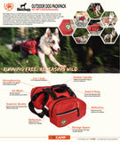 dog gear weekender backpack
