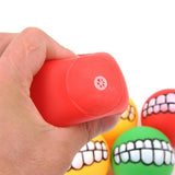 Pet Spherical Super Thick Sound Teeth Bite Resistant Ball Toy