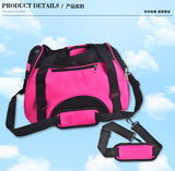 Foldable Pet Travel Carrier by Ventilated For Dog Or Cat