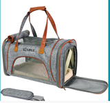 Pet Airline Approved Soft Sided Travel kamart Carrier for Dogs and Cats
