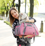 Airline Approved Large Pet Travel Carriers Soft Sided Portable Bags for Dogs Cats