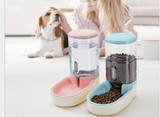 Automatic Pet Feeder and Waterer Food and Water Dispenser