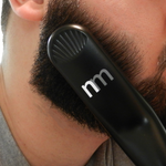 Newmen Pro™ - Heated Beard-Brush & Straightener