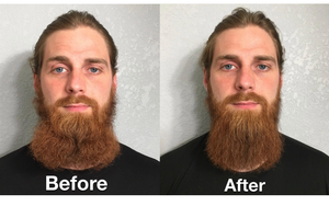 Newmen Pro™ Heated Beard Straightener