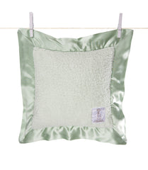 Satin Chenille Pillow Celadon