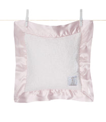 Satin Chenille Pillow Pink