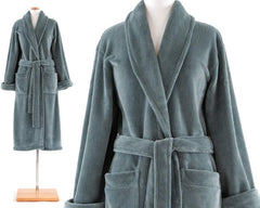 Sheepy Fleece Robe Juniper