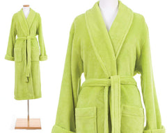 Sheepy Fleece Robe Wild Lime