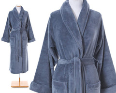 Sheepy Fleece Robe Twilight
