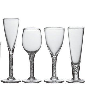 Stratton Stemware by Simon Pearce