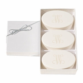 signature spa personalized soap trio by carved solutions
