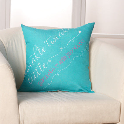 Twinkle Twinkle Pillow by Checkerboard