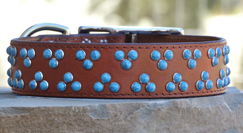 southwestern dog collar
