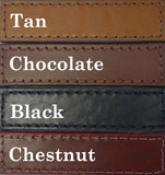 leather dog collar color choices