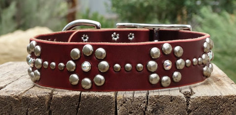 girly dog collar for big dogs