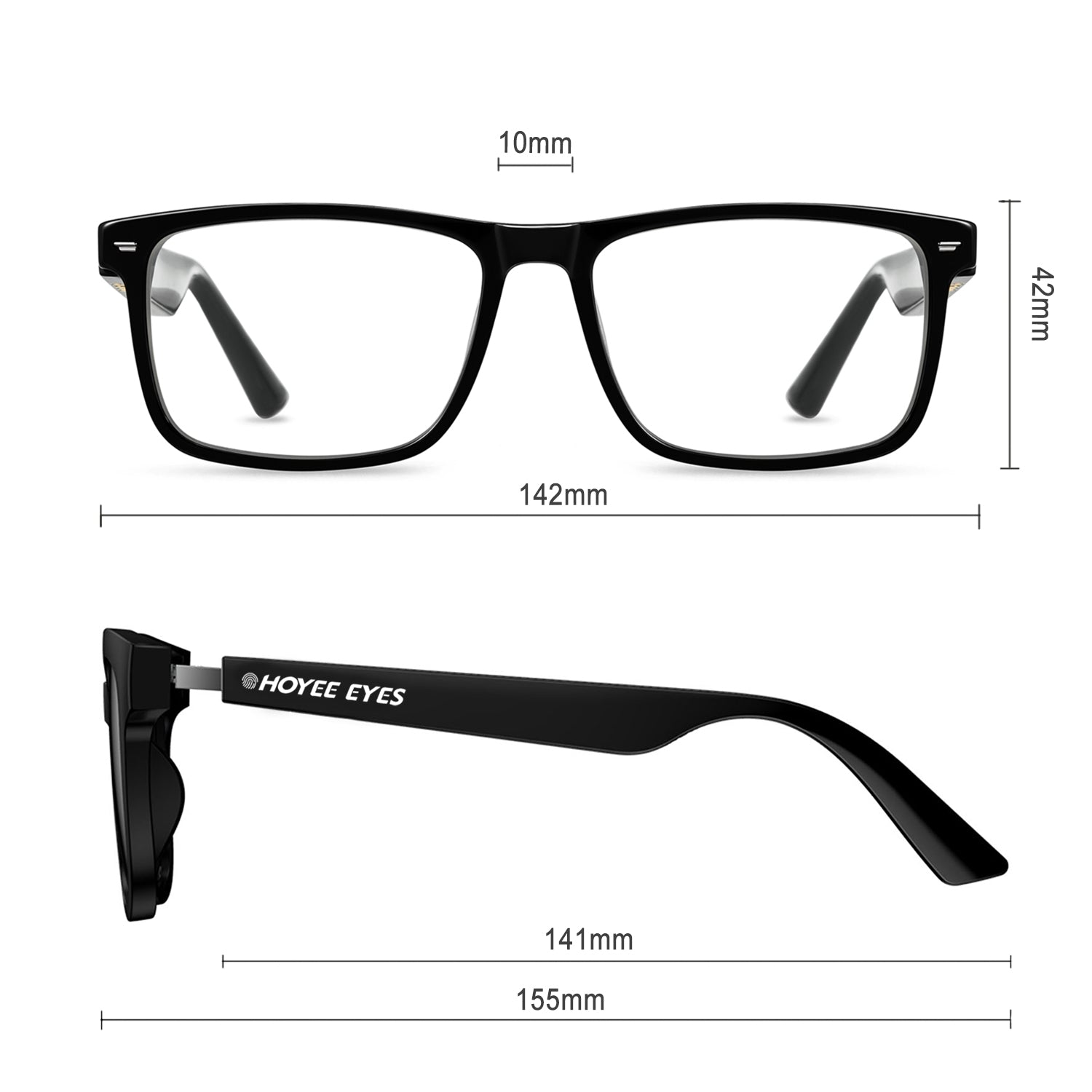 hoyee eyes envision smart glasses dimension