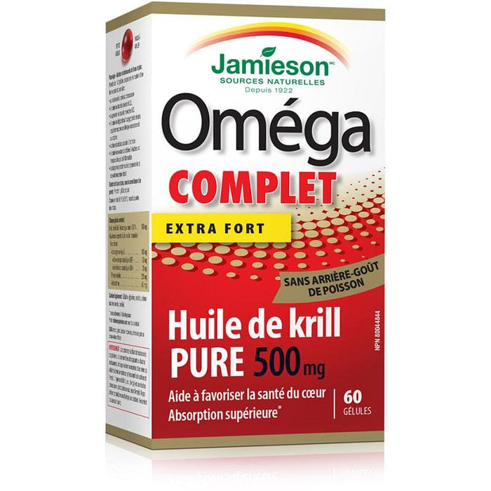 Jamieson Super Krill 500mg 60 caps 064642078438