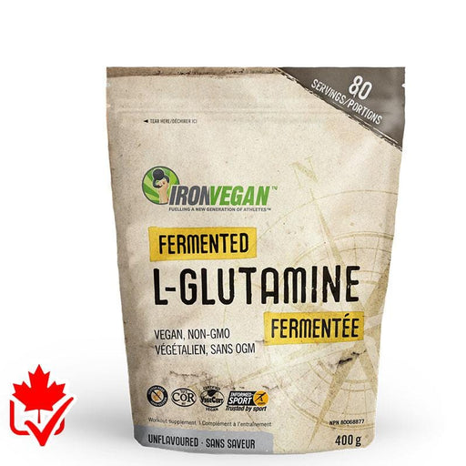 Iron Vegan Fermented Glutamine 400g 837229007400