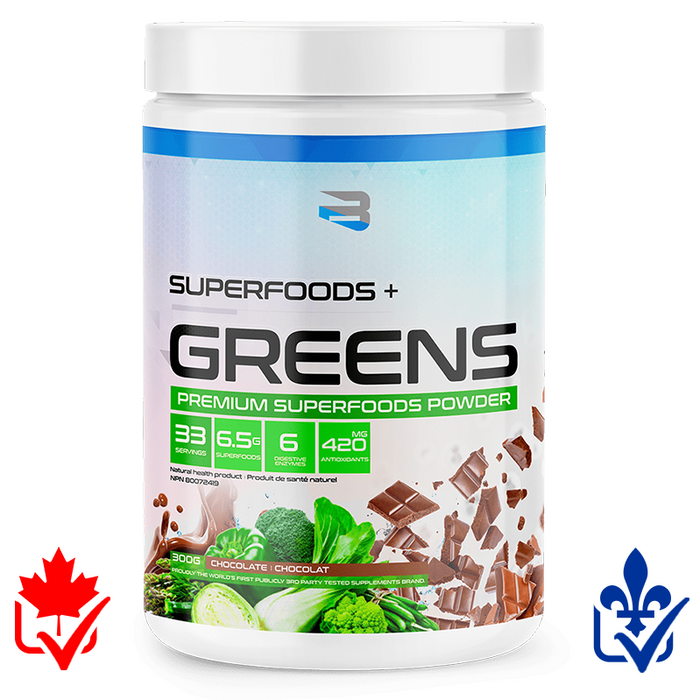 Believe Superfoods + Greens 300g