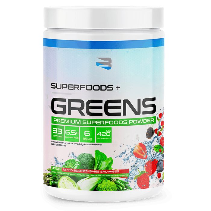 Believe Superfoods + Greens 300g 628055911043