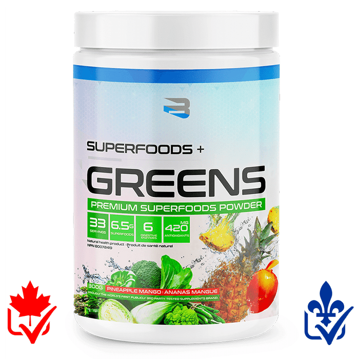 Believe Superfoods + Greens 300g 628055911036