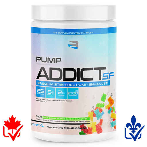Believe Pump Addict Stim Free 350g 628055911890
