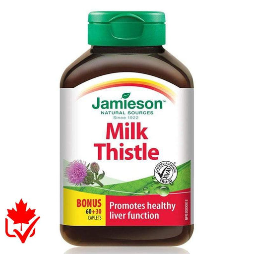 Jamieson Milk Thistle 4,500mg 90 caps 064642027672