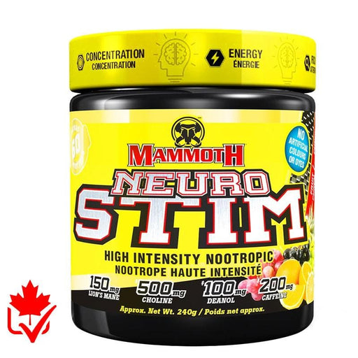 Mammoth Neuro Stim 240g 625486104006