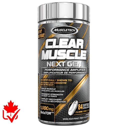 MuscleTech Clear Muscle Next Gen 84 caps 631656325218