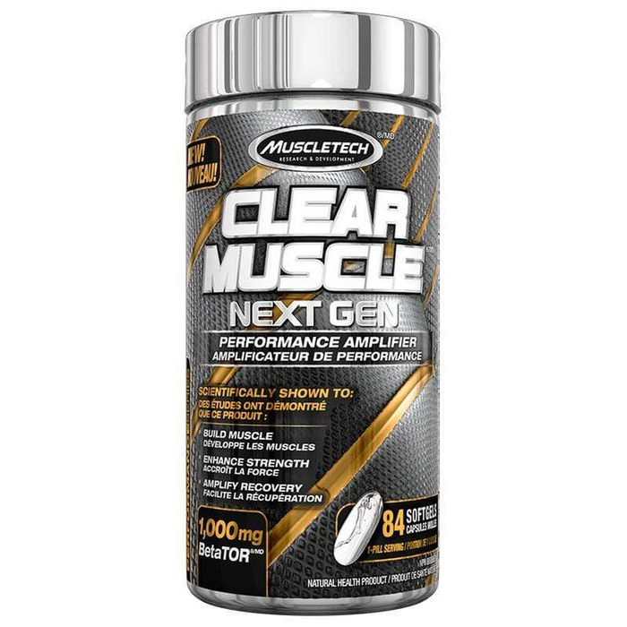 MuscleTech Clear Muscle Next Gen 84 caps