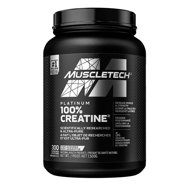 MuscleTech Platinum 100% Creatine 1500g