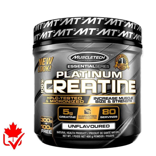 MuscleTech Platinum 100% Creatine 400g 631656343212