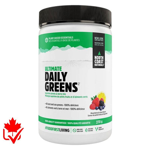 North Coast Naturals Daily Greens 270g 627933101606