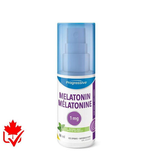 Progressive Melatonin Spray 58ml Mint 837229009237