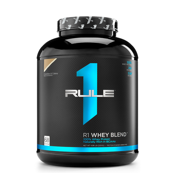Rule1 Blended Whey Protein 5lb