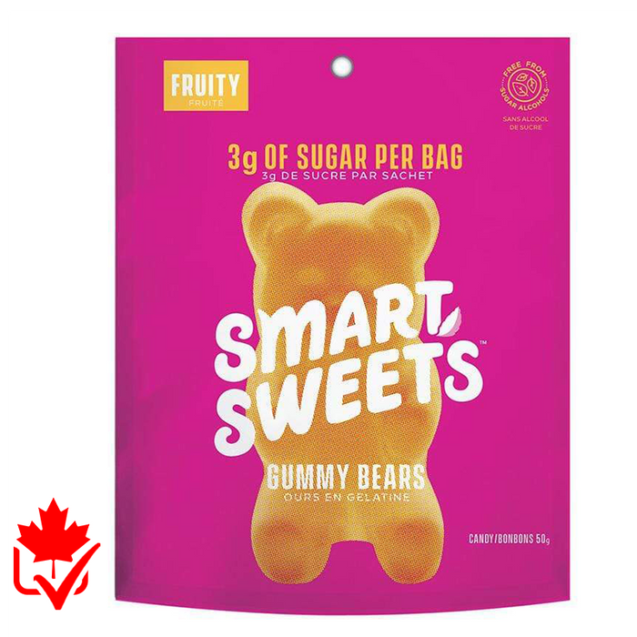 Smart Sweets à l'unité (1 sac - 50g) || Smart Sweets individual bag (1 Bag)