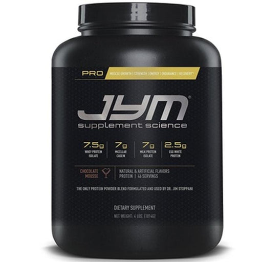 JYM Pro Protein 4lb 817047020027
