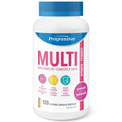 Progressive Multivitamin PreNatal 120 caps 837229002115