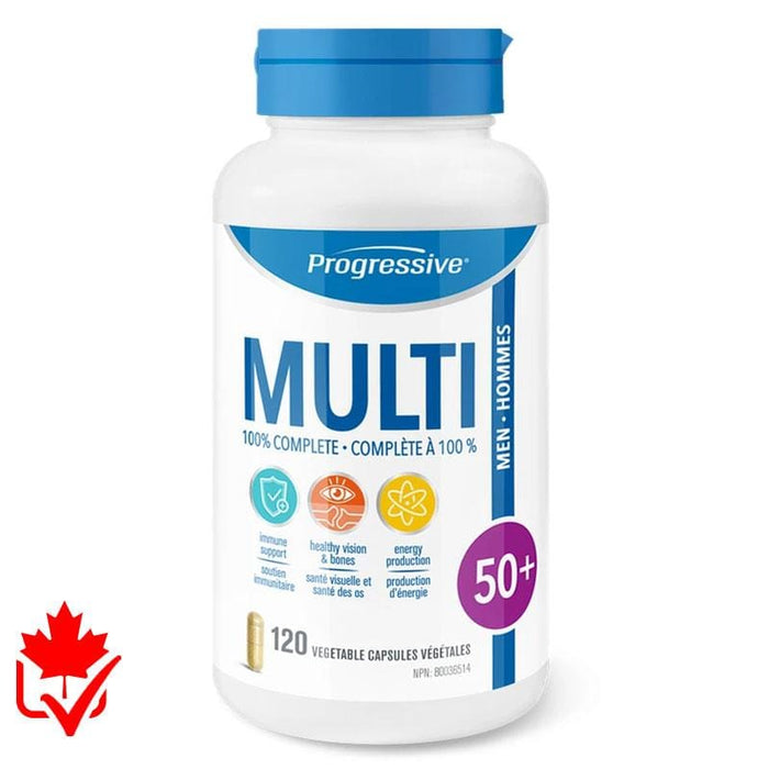 Progressive Multivitamin homme 50+ 120 caps 837229000128