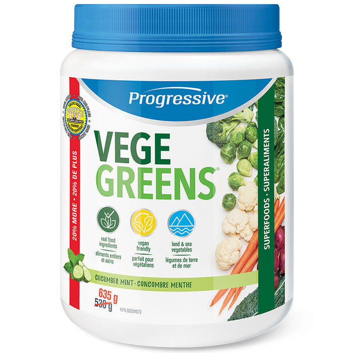Progressive VegeGreens 610g - 635g