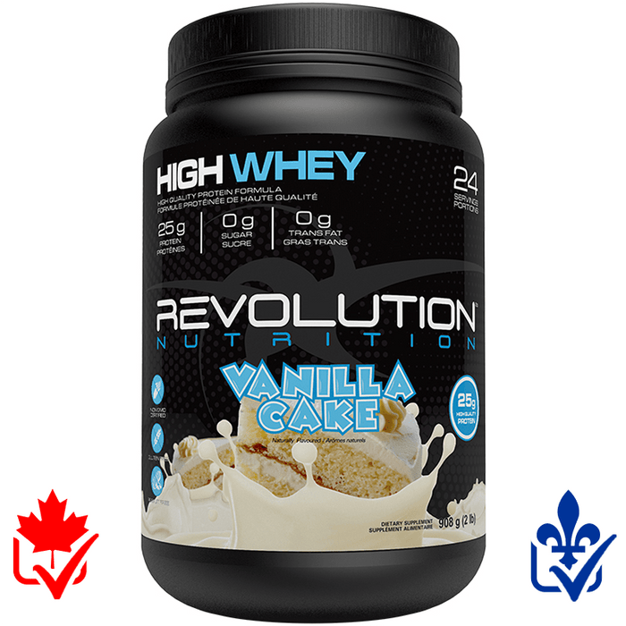 Revolution High Whey 2lb 627531004309
