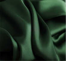 Load image into Gallery viewer, Forest Green Square Satin Scarf - Sally De La Rose