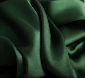 Forest Green Square Satin Scarf - Sally De La Rose