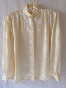 Vintage 70's High Neck Blouse - Sally De La Rose
