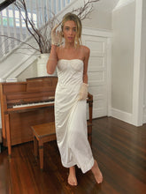 Load image into Gallery viewer, Vintage Ivory Slip Dress