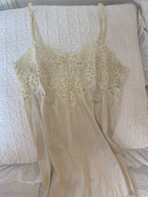 Load image into Gallery viewer, Vintage Lace Slip Dress - Sally De La Rose